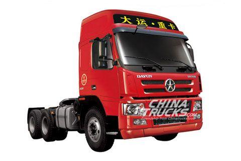 Dayun CGC4252(N8E lightweight)+Weichai Power+FAST Gearbox+HANDE Axle