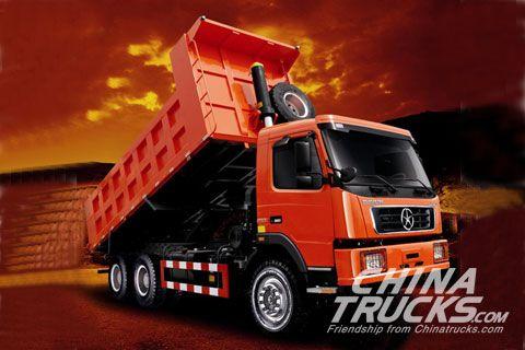 Dayun DYX3253(mining dump truck)+Weichai Power+FAST Gearbox+Hande Axle