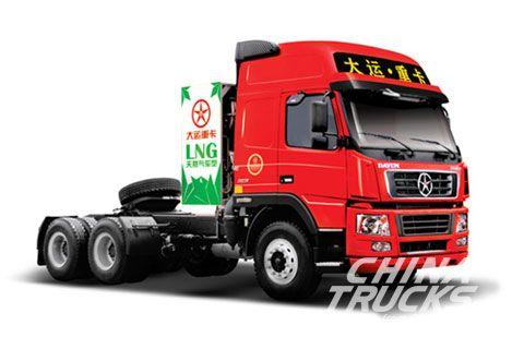Dayun CGC4253(LNG)+Weichai Power+FAST Gearbox+HANDE Axle