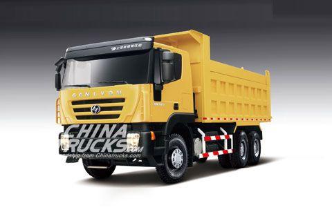 SAIC-IVECO Hongyan Genlyon 6×4 CQ3254 HTG414+Weichai Power+FAST Gearbox