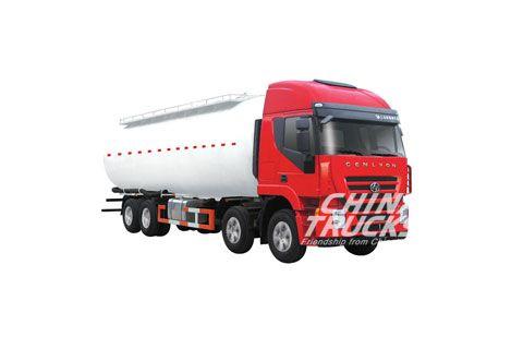 Hongyan Genlyon Powder Tank Truck CQ5314GFLHTG466