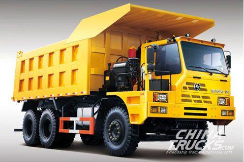 Hongyan Genlyon Off-road CQ3254HTG384 Dumper+SAIC Fiat Power+FAST Gearbox