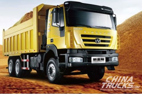 Hongyan New Kingkan Euro Ⅳ 6×4 Dumper+SAIC Fiat Power+FAST Gearbox