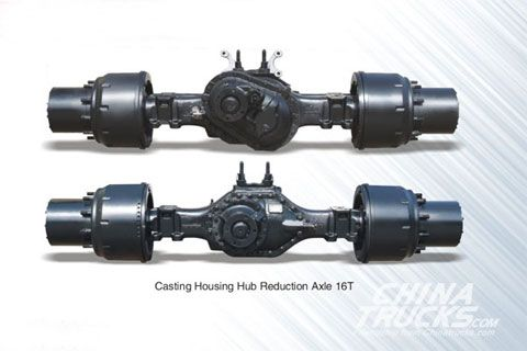 Hande Casting Housing Hub Reduction Axle 16T