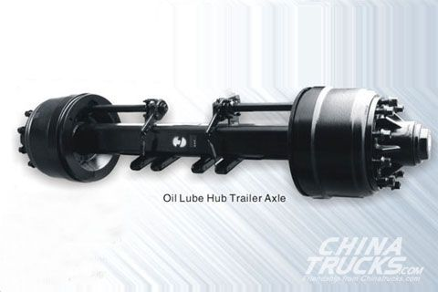 Hande Oil Lube Hub Trailer Axle