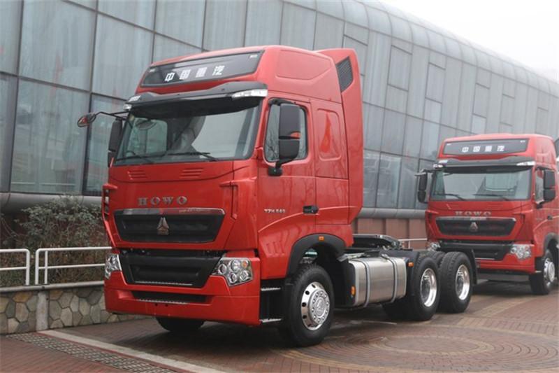 SINOTRUK HOWO T7H 540HP 6X4 Tractor Head(AMT)(ZZ4257W324HE1B)