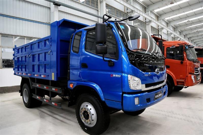 SOJEN D550 130HP 4X2 Euro-Compliant 3.7米自卸车(LFJ3041SCG1)