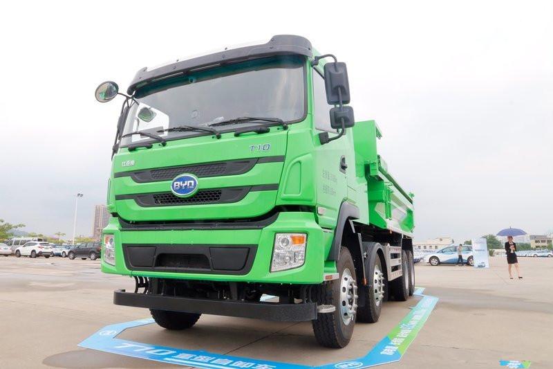 BYD T10ZT 31T 8X4 5.6M Full Electric Dumper(BYD3310EH9BEV)435kWh