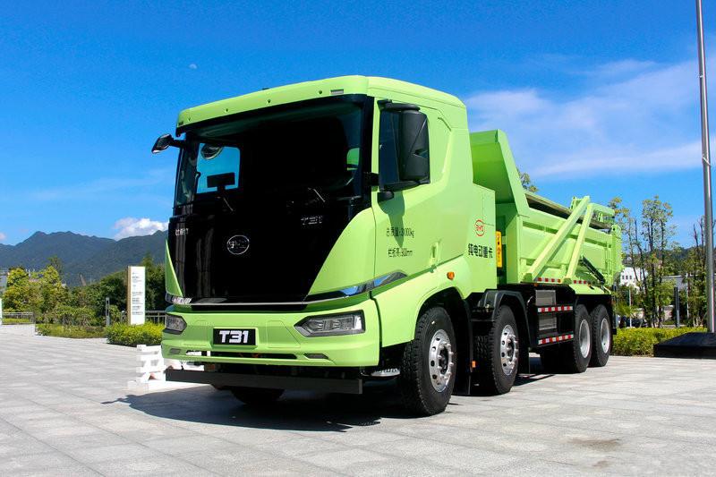 BYD T31 31T 8X4 5.6M Full Electric Dumper(BYD3310EL9BEV)