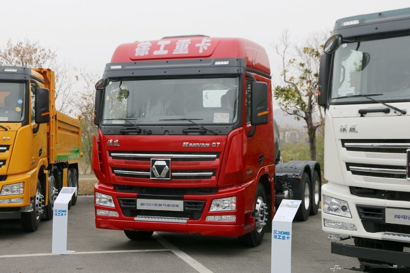 XCMG HAVAN G7 460hp 6X4 Euro-compliant LNG Tractor(XGA4250N6WC)