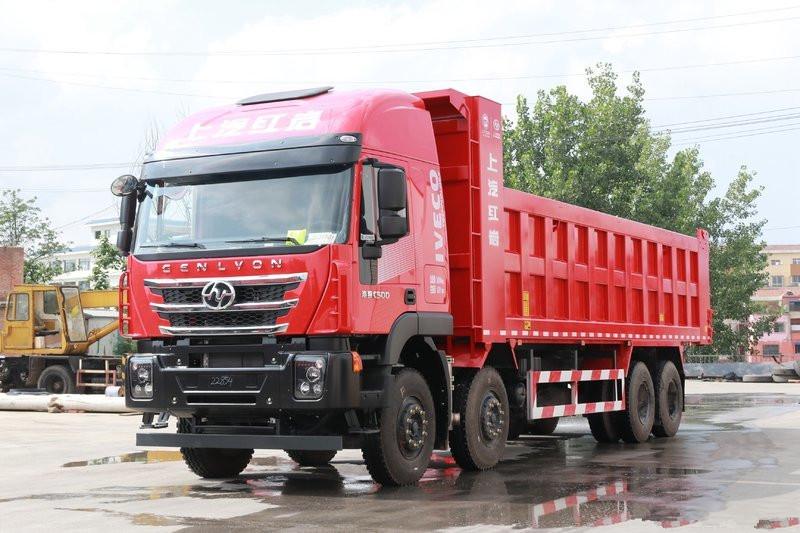 Hongyan Genlyon C6 Heavy Load Edition 370HP 8X4 6m Dumper(CQ3317HD10256)