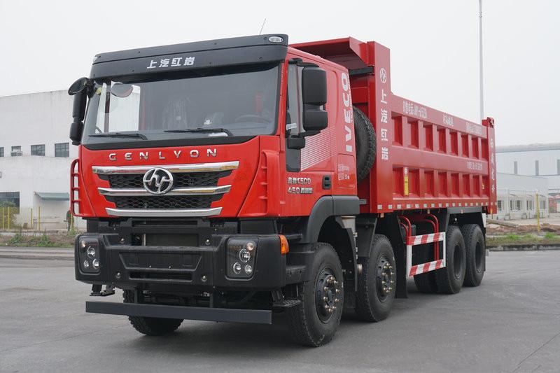 Hongyan Genlyon C6 Heavy Load Edition 400hp 8X4 7.2m Euro-6 LNG Dumper(CQ5317ZLJHD12366T)