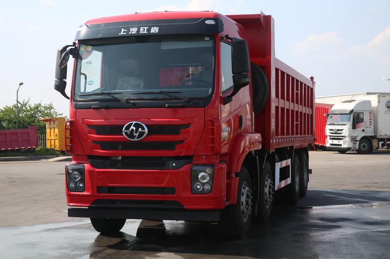 SAIC Hongyan C500 Standard Edition 320HP 8X4 6.5m Dumper(CQ5316ZLJZTVG336)