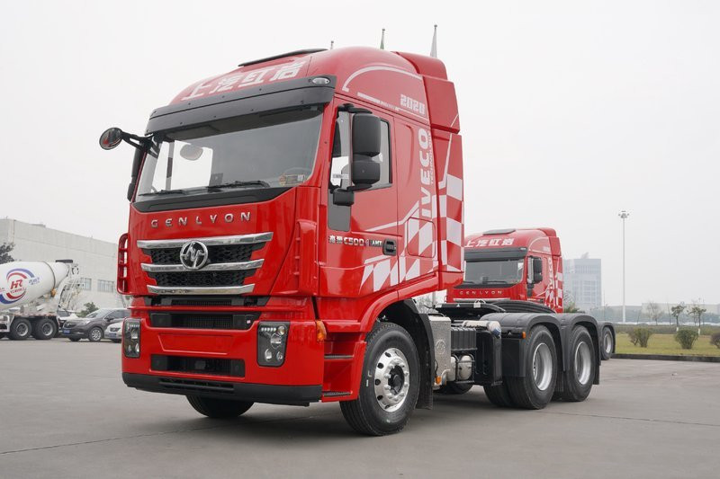 Hongyan GenlyonC500 520HP 6X4 AMT Tractor(CQ4256HYVG334B)