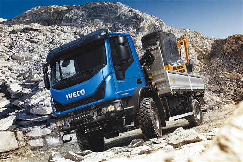 Iveco EuroCargo 204hp 4X2 CNG Euro-6 Dumper(ML120EL21/P)