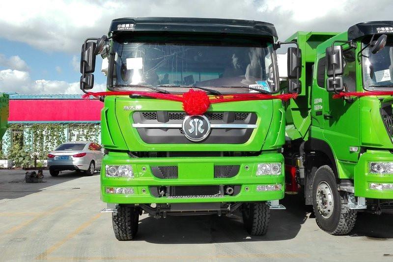 SINOTRUK Steyr D7B Heavy-duty Truck 380hp 8X4 7.6m Euro-5 Dumper(ZZ3313N3861E1N)